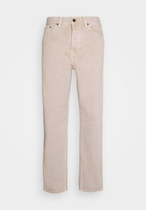NEWEL PANT PARKLAND - Straight leg jeans - dusty brown worn washed