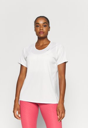 RACE - T-shirt basic - white/silver