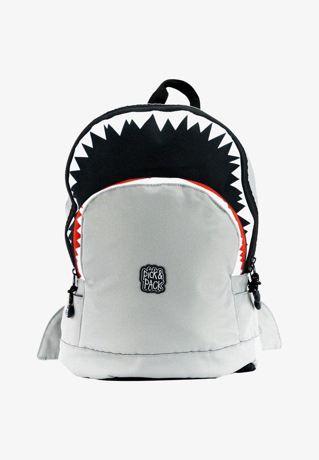 SHARK - Ryggsäck - grau