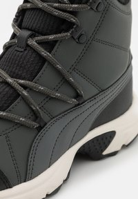 Puma - AXIS BOOT  - Hiking shoes - dark grey - 5
