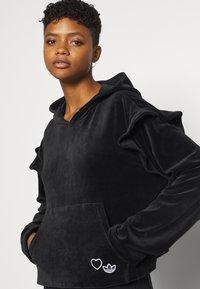 adidas Originals - HOODIE - Sweat à capuche - black - 3