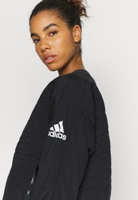 adidas Performance - PADDED - Laufjacke - black - 4
