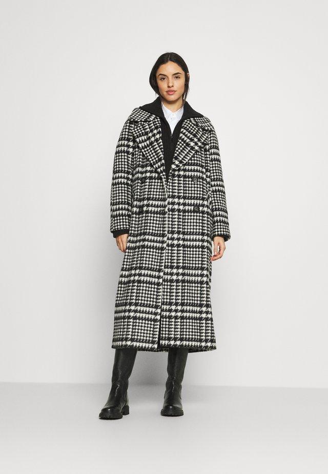 VALENCIAOVERSIZED COAT - Zimní kabát - black