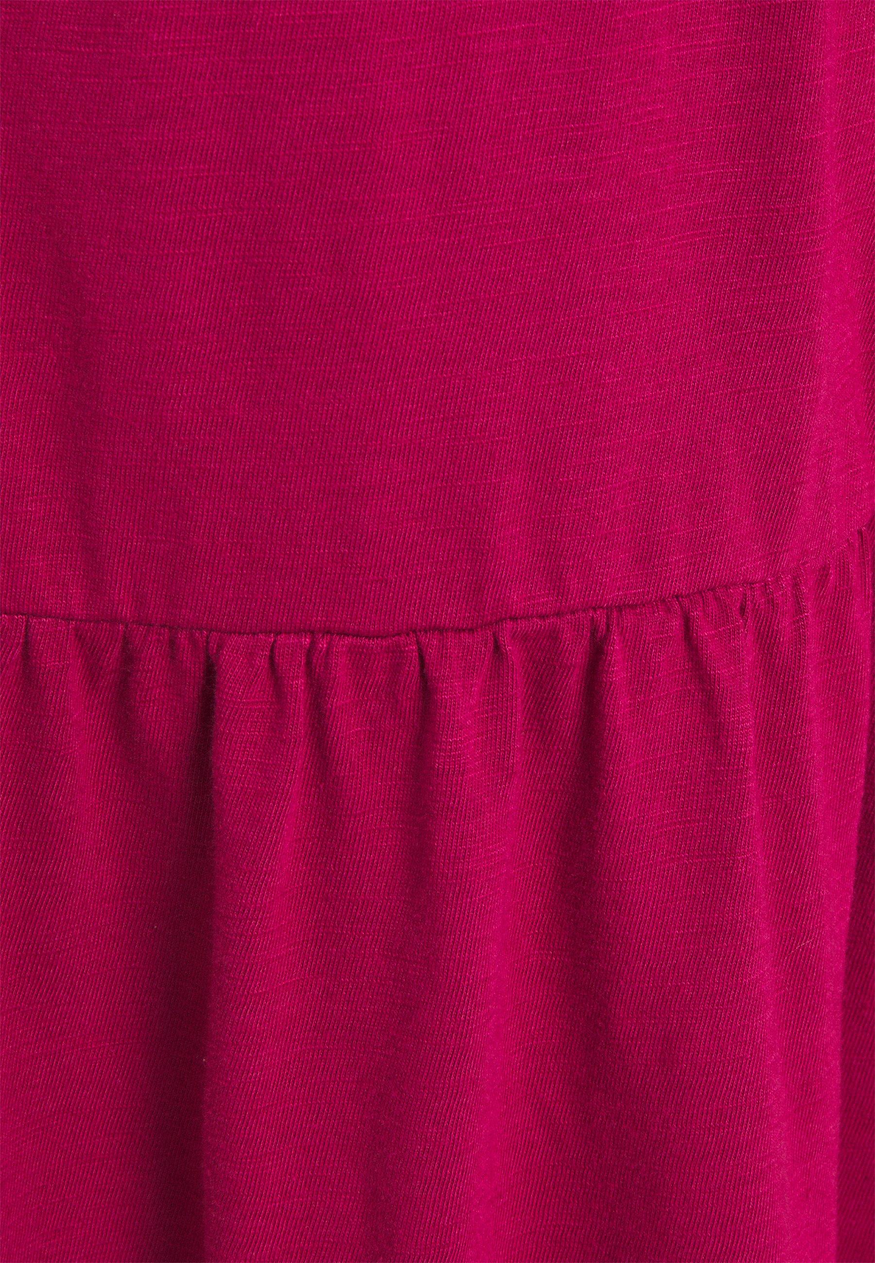 GAP TIERD Jerseykleid ruby pink/pink