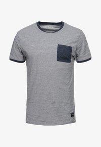 Pier One - Print T-shirt - blue - 4