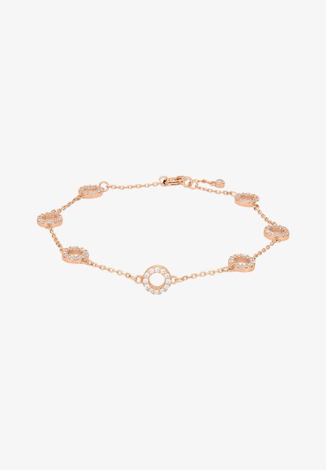 Armband - rose gold plated