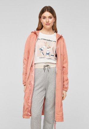 Short coat - light blush