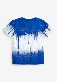 Next - SPLAT  - Print T-shirt - blue-grey - 1