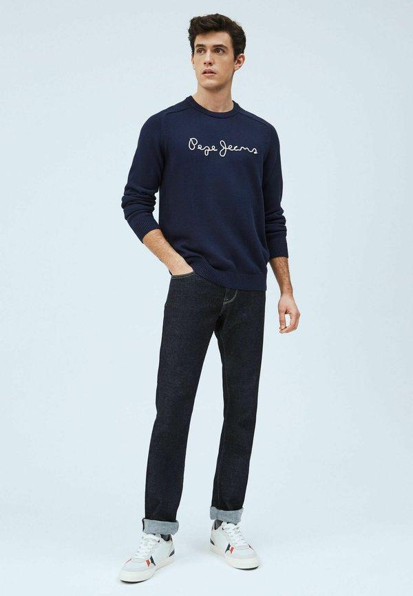 Pepe Jeans Sweter - thames/granatowy Odzież Męska DHFT