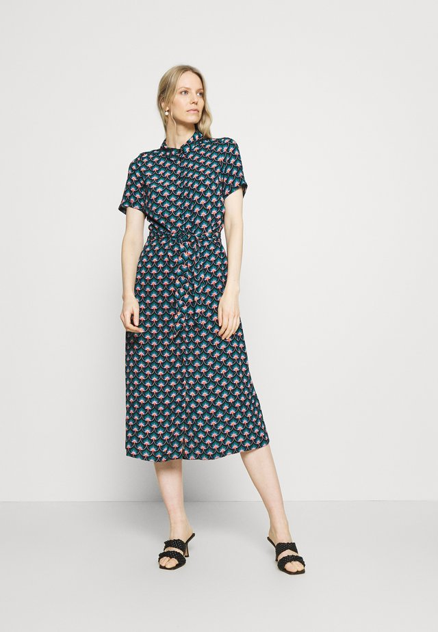 DRESS EMPEROR - Shirt dress - everglade