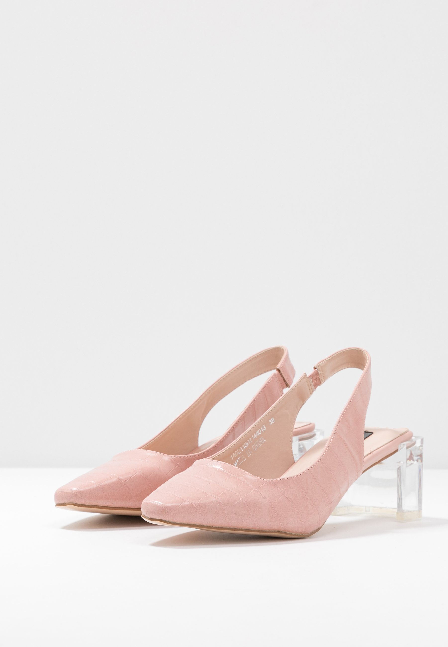 SLINGBACK HEEL SHOE Pumps nude