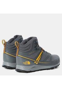 The North Face - M LITEWAVE MID FUTURELIGHT - High-top trainers - zinc grey/saffron - 3