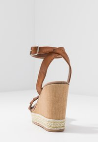 Anna Field - High heeled sandals - cognac - 5