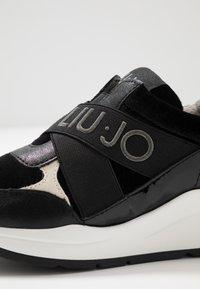 LIU JO - KARLIE - Nazouvací boty - black - 2