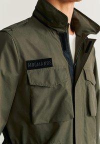 Mango - ARMY - Light jacket - khaki - 3