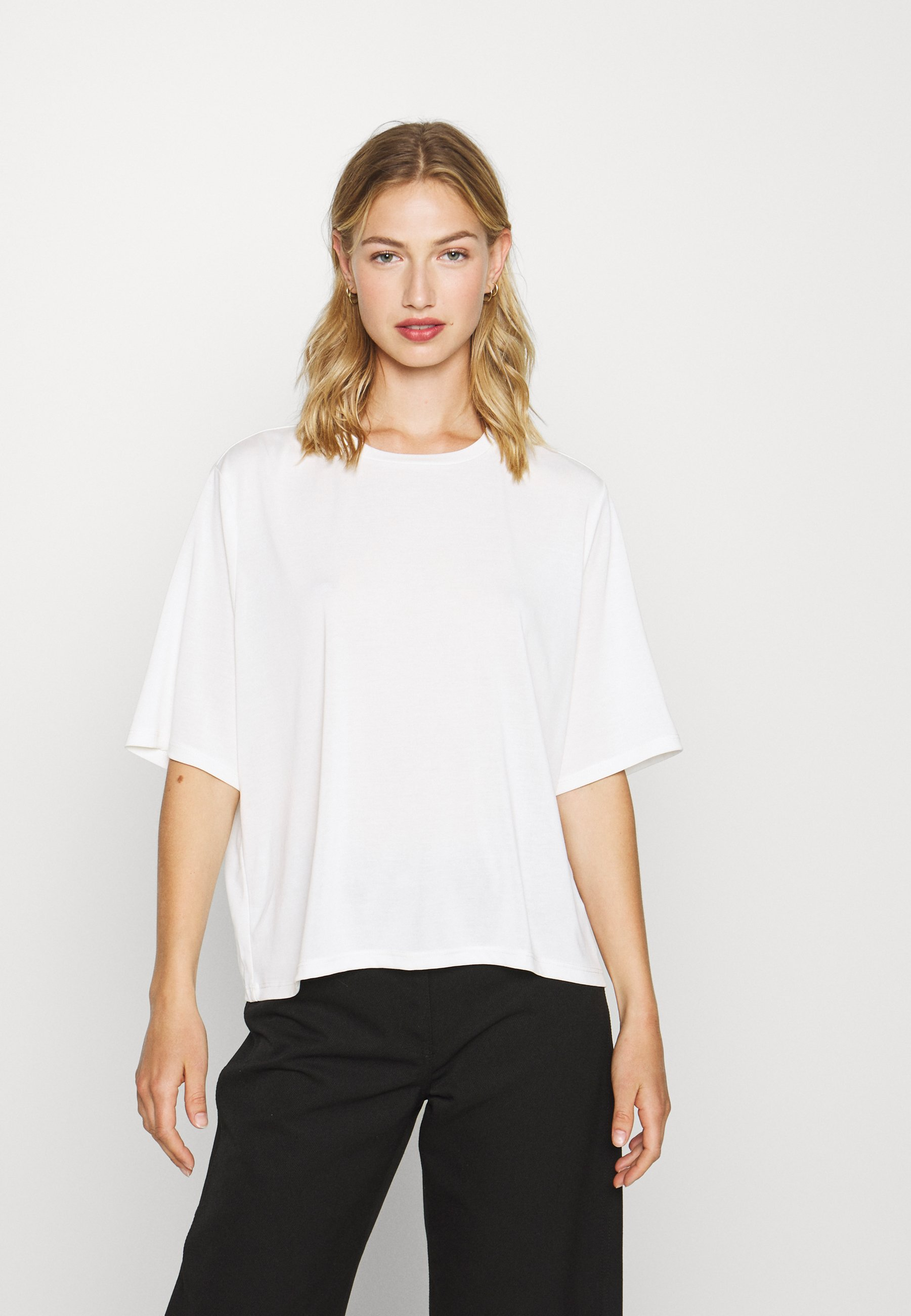 Monki DORA - T-shirts - white