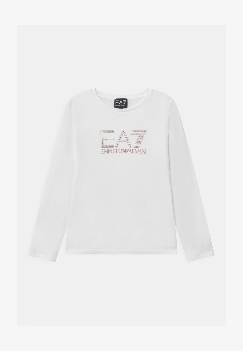 Emporio Armani - EA7  - Long sleeved top - white