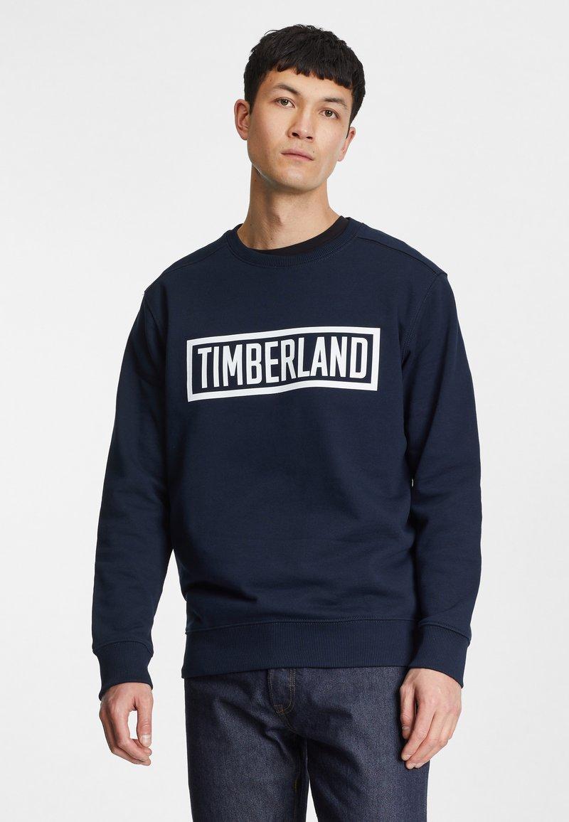 Timberland - SHEDD BROOK 3D - Sweatshirt - dark sapphire