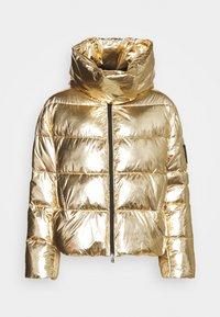 GIZA IMBOTTITO TELA SPECCHIO - Zimní bunda - gold