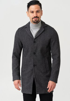 MANTEL BESTER - Short coat - black mix