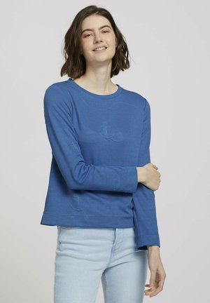 Sweatshirt - mid blue anchor structure