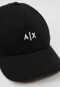 Armani Exchange - BASEBALL HAT - Cap - nero/bianco - 6