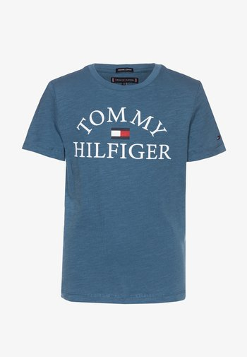 ESSENTIAL LOGO - Print T-shirt - blue