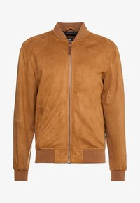 INDICODE JEANS - FORT WAYNE - Giacca in similpelle - camel - 3