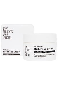 STOP THE WATER WHILE USING ME! - ALL NATURAL PARSLEY KALE RICH FACE CREAM - Face cream - black/white - 1
