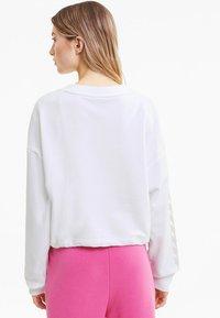 Puma - EVIDE CREW - Sweater -  white - 2