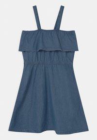Lemon Beret - TEEN GIRLS - Vestito di maglina - denim blue - 0