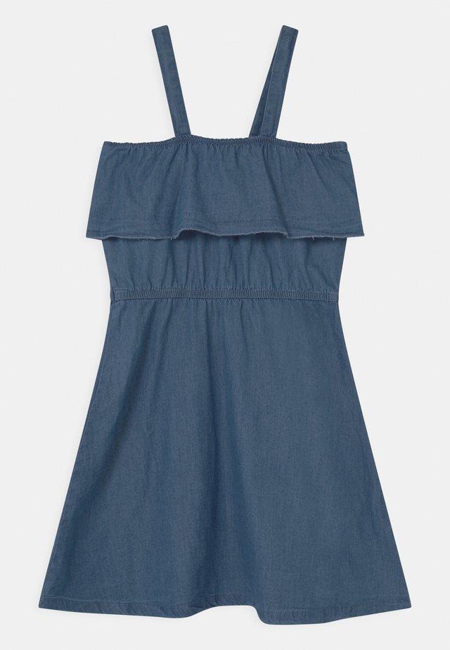 TEEN GIRLS - Jersey dress - denim blue