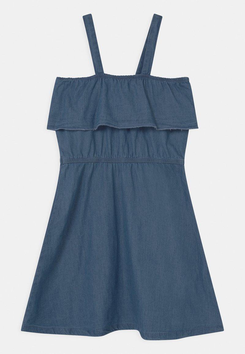 Lemon Beret - TEEN GIRLS - Vestito di maglina - denim blue
