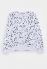 Name it - NKFLEMONI UNB BOX - Sweater - bright white - 0