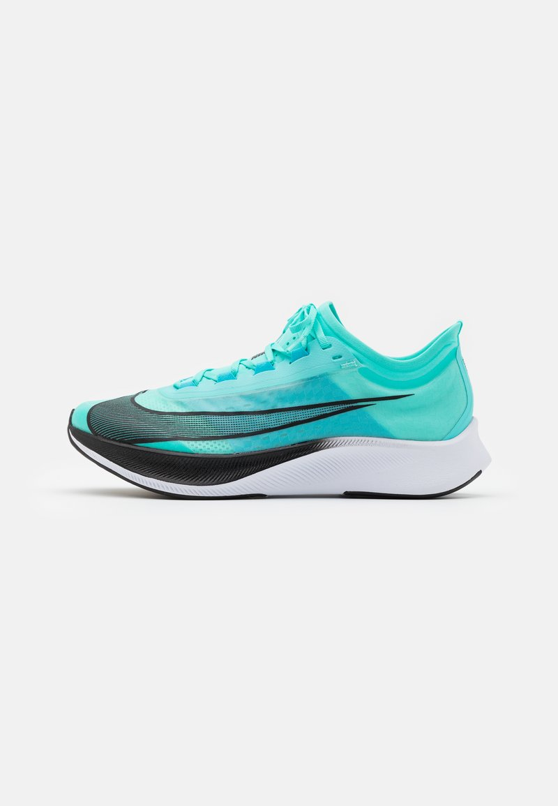 Nike Performance - ZOOM FLY 3 - Neutral running shoes - aurora green/black/chlorine blue/white