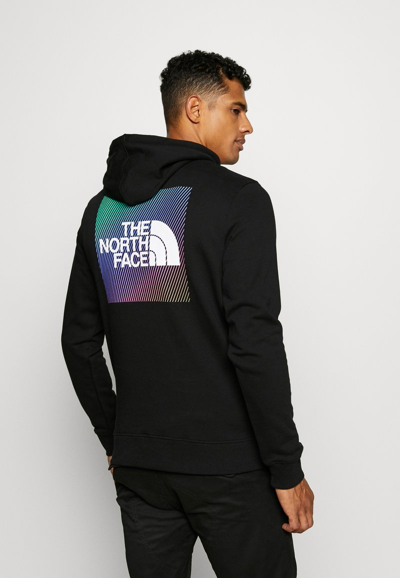 The North Face - GRAPHIC HOODIE - Luvtröja - tnf black/tnf white