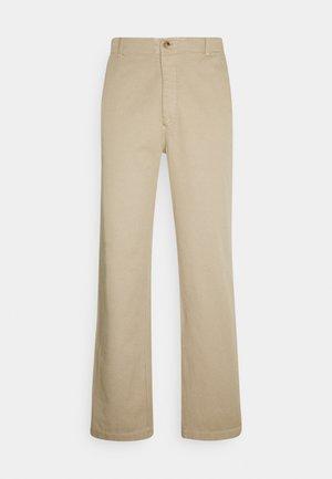 VAN TROUSER - Pantalones - beige