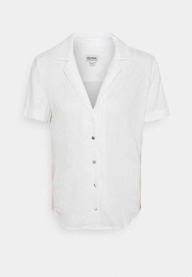 CLASSIC SHORT SLEEVE - Pyjamashirt - white