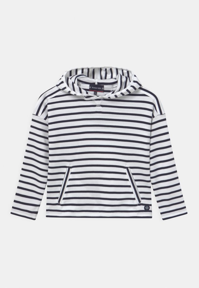 STRIPED UNISEX - Longsleeve - blanc navy