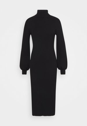 PUFF - Shift dress - black
