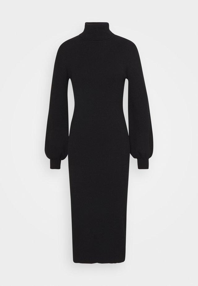 PUFF - Shift dress - black