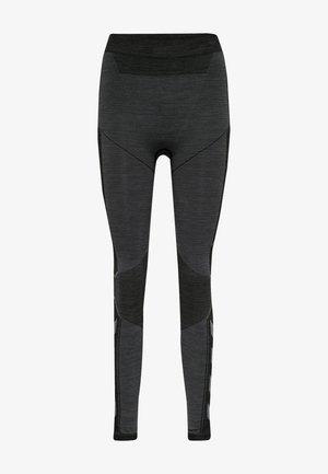 Leggings - black melange