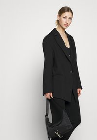 Weekday - MARLIN OVERSIZED - Short coat - black - 4