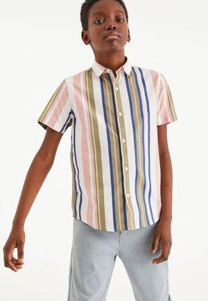 STRIPE - Shirt - pink / blue / green