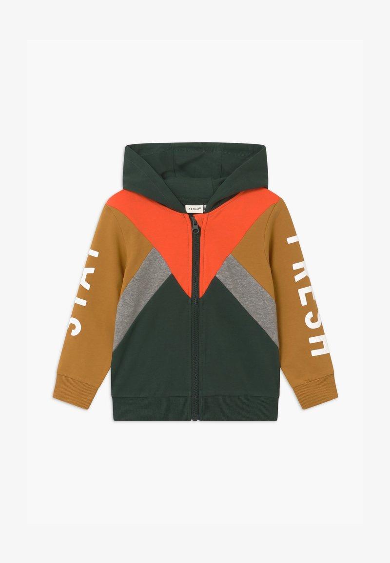 Name it - NMMLAMBERT - Zip-up hoodie - darkest spruce