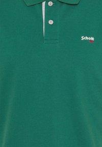 Schott - PSMILTON - Polo shirt - green/grey - 2