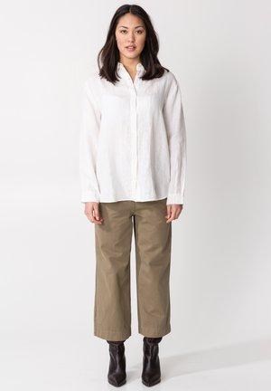 DIANA - Button-down blouse - white