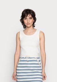 Rich & Royal - SKIRT - Mini skirt - smoked blue - 0