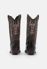 Kentucky's Western - UNISEX  - Cowboy/Biker boots - madison testa di moro/roc grey - 2