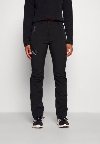 PINNEBERG - Pantaloni outdoor - black